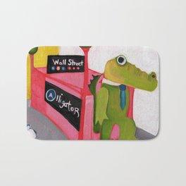 A for Alligator Bath Mat