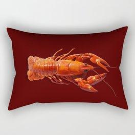 Pollution Awareness - Crawfish Rectangular Pillow