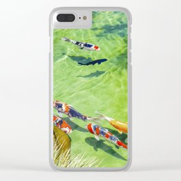 Fish watercolor IV Clear iPhone Case