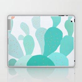 Watercolor of cacti IX Laptop & iPad Skin
