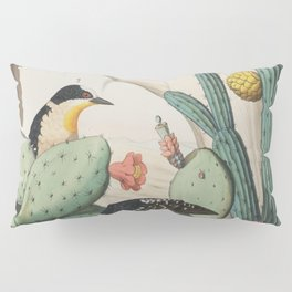 Woodpeckers And Cacti Pillow Sham