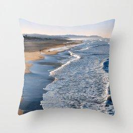 Lands End Beach Throw Pillow