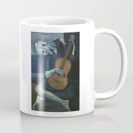 Pablo Picasso - The Old Guitarist Coffee Mug