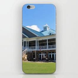 Sports Club Building iPhone Skin