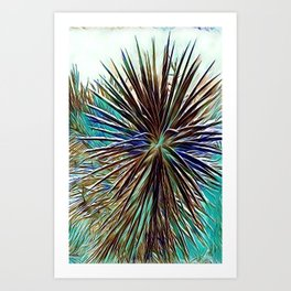 Joshua Tree Mintz by CREYES Art Print