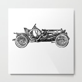Old car 3 Metal Print