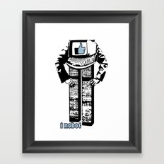 I nobot Framed Art Print