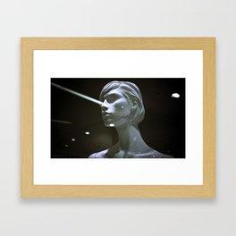 Laura Laser Framed Art Print