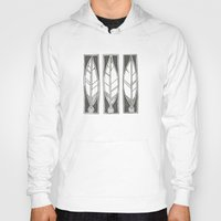 ethnic Hoodies featuring Ethnic Feathers by rob art | simple