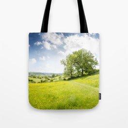 Idyllic Cotswold Summer Landscape Tote Bag