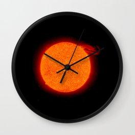 Nasa Picture 5: the sun Wall Clock