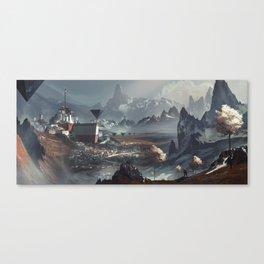 Hemelstad Canvas Print