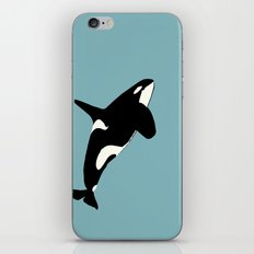 Killer Whale on the move iPhone & iPod Skin