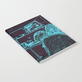 9-1-1 blue Notebook