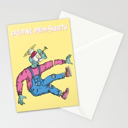OPEN MINDED: LASER SPACER Stationery Cards