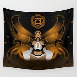 Inner Light: Spleen Chakra Wall Tapestry