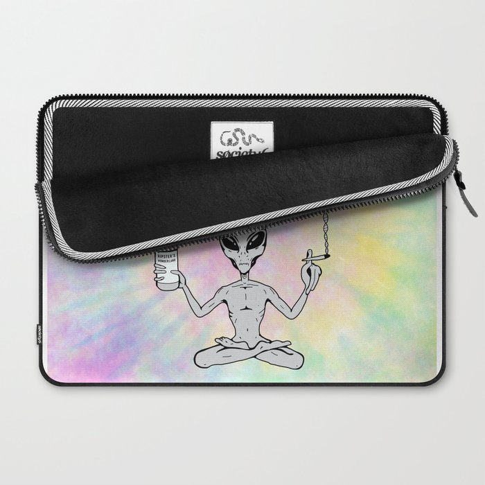 Far Out Alien (Pastel) Laptop Sleeve