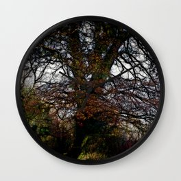 Tree Branches Wall Clock