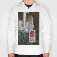 bicycles Hoodies featuring Except Bicycles by RMK Photography