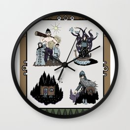 Those ancient times Wall Clock