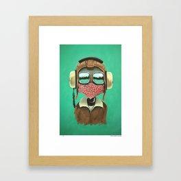 A pilot Framed Art Print