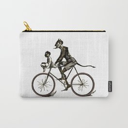 The Devil Wears Lycra Carry-All Pouch