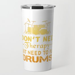 PLAY DRUMS Travel Mug