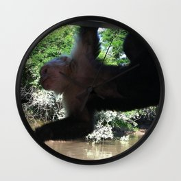 Monkey Business Wall Clock