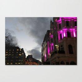 Dramatic London Canvas Print