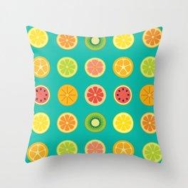 SLICE - grid Throw Pillow