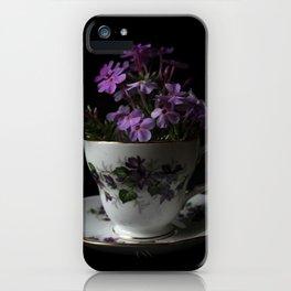 Botanical Tea Cup iPhone Case