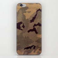 camo iPhone & iPod Skins featuring Camo by Sheena Mohammadi