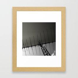 MINUTIAE / 03 Framed Art Print