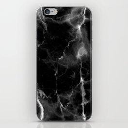 Black Marble iPhone Skin