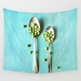 Give Peas a Chance Wall Tapestry