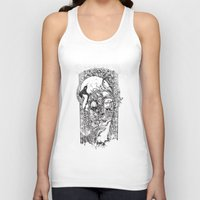swan queen Tank Tops featuring Swan by Tshirt-Factory