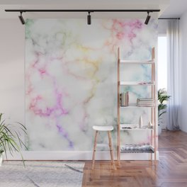 Colorful marble pattern Wall Mural