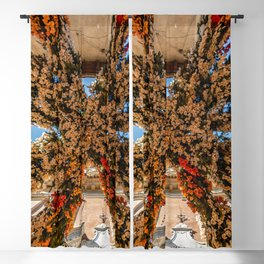 Montisola flower festival on island of Montisola Blackout Curtain