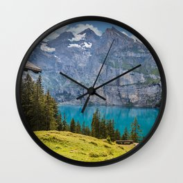 A Piece of Paradse II Wall Clock