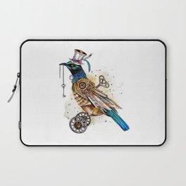 Steampunk Tui Bird  Laptop Sleeve