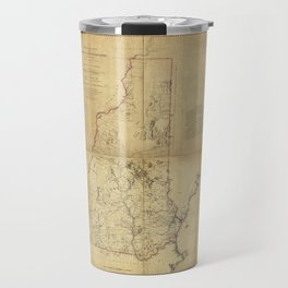 Topographical Map of the Province of New Hampshire (1784) Travel Mug