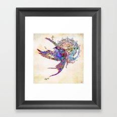 Collide Framed Art Print