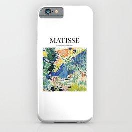 Matisse - Landscape at Collioure iPhone Case