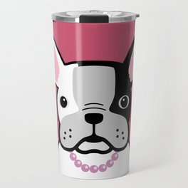 ... because I love pink Travel Mug