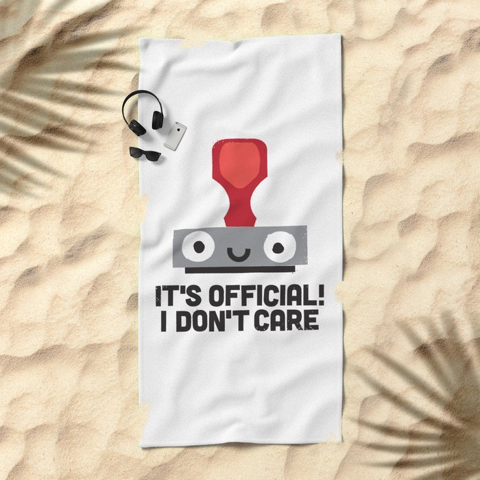 Nopetarized Beach Towel
