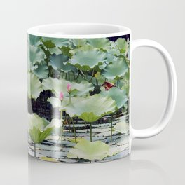 SUMMER LOTUS I Coffee Mug