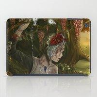 princess mononoke iPad Cases featuring mononoke by Devon Busby Busbyart