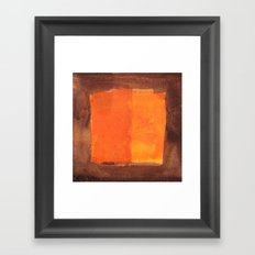 color abstract 6 Framed Art Print