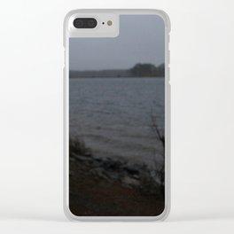 Darkened Clear iPhone Case