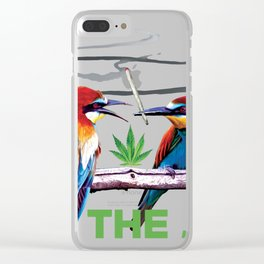 Pass the Joint (Marijuana) Clear iPhone Case